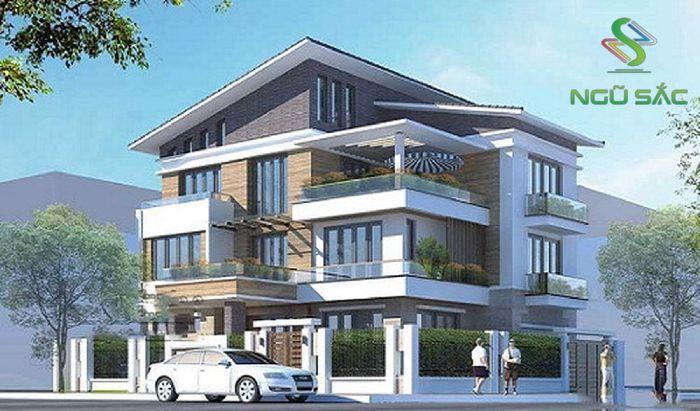 Phong cách biệt thự 3 tầng hiện đại