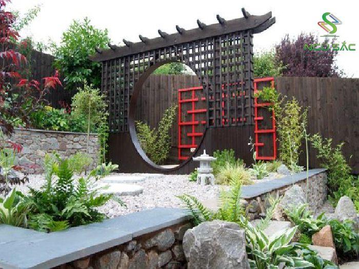 Một phần kiến trúc sân vườn