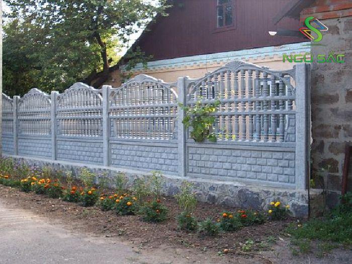 Hàng rào ly tâm sang trọng