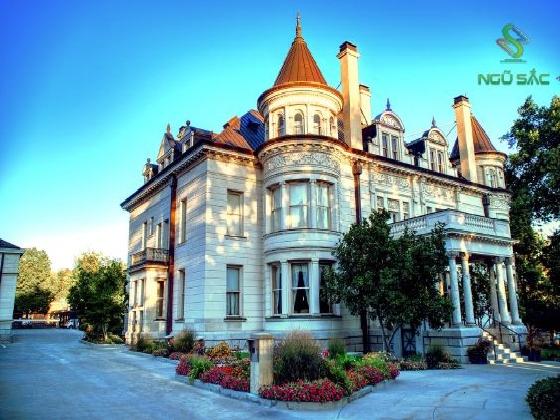 Thiết kế biệt thự lâu đài cổ điển