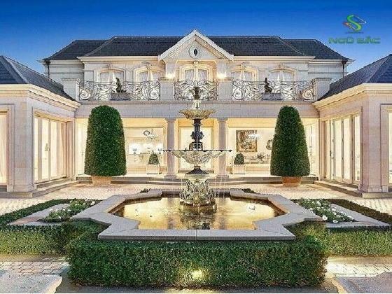 Thiết kế biệt thự mái thái phong cách tân cổ điển