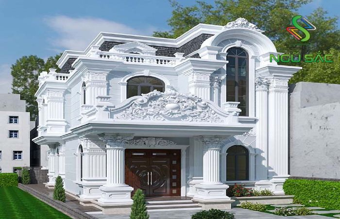 Mẫu biệt thự cổ điển sang trọng