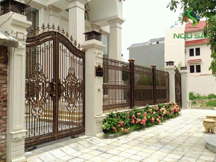 Các mẫu cổng hàng rào biệt thự đẹp