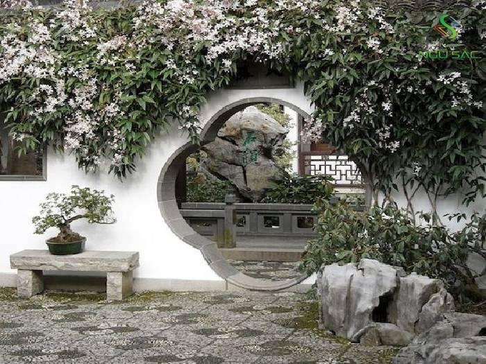 Cổng đặc trưng của Trung Hoa
