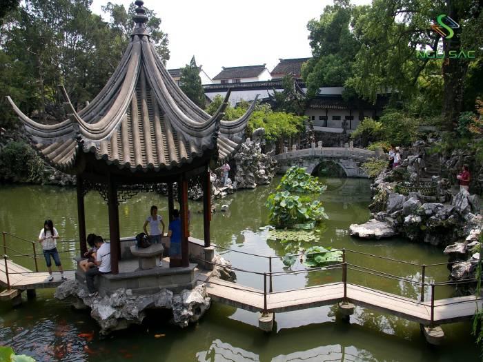 Mái chòi đặc trưng của Trung Hoa