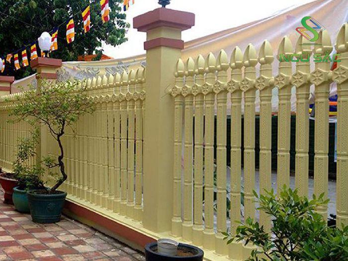 Thiết kế hàng rào lục giác ly tâm