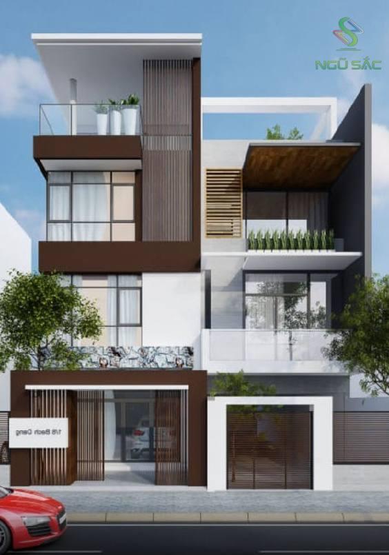 Thiết kế nhà phố kinh doanh 3 tầng