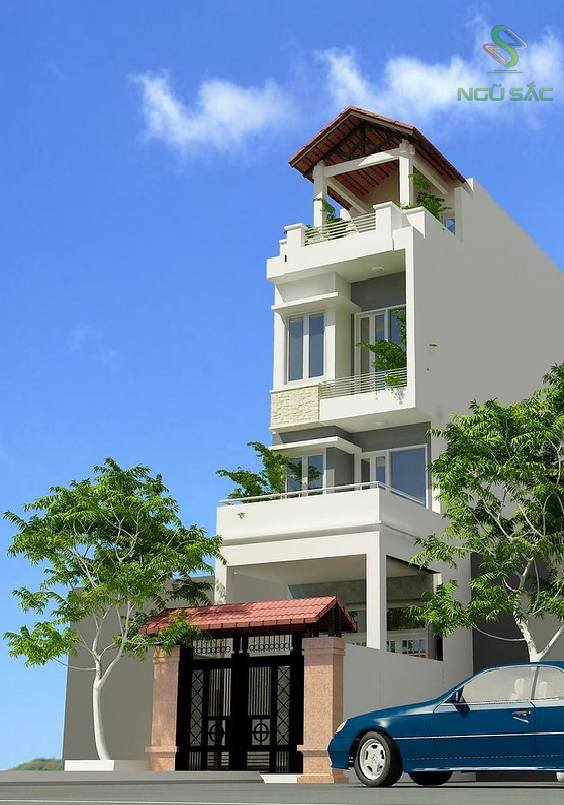 Thiết kế nhà phố 6x17m 3 tầng lầu
