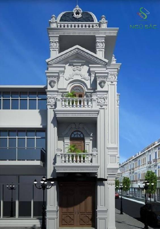 Tư vấn thiết kế nhà phố cổ điển đẹp