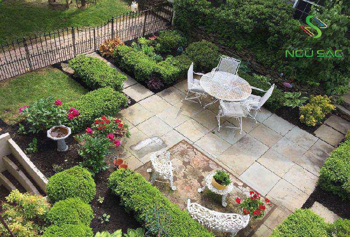 Thiết kế sân vườn tân cổ điển