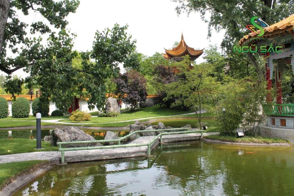Thiết kế sân vườn Trung Quốc