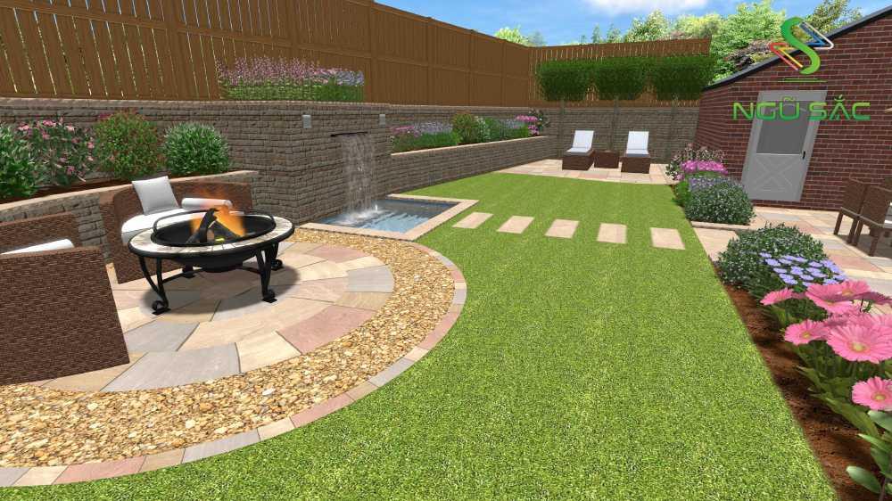 Lên ý tưởng thiết kế sân vườn
