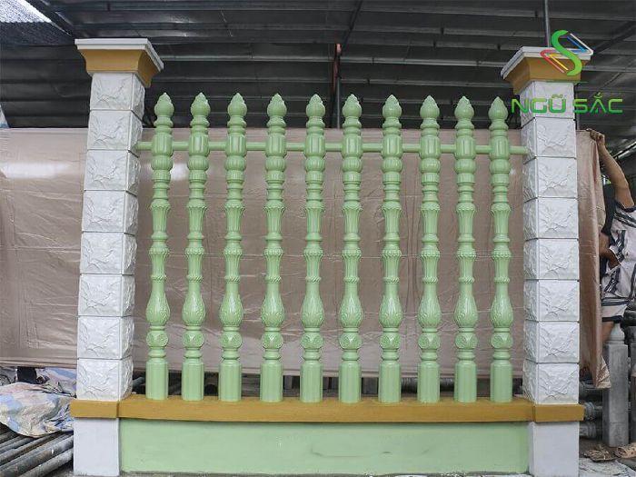 Mẫu hàng rào thiên ý độc đáo