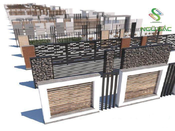 Vật liệu hàng rào