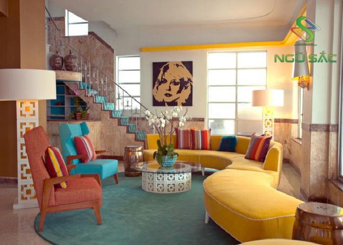 Phong cách thiết kế nội thất Phòng ngủ đẹp với Maverick