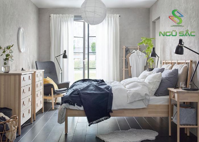 Phong cách phòng ngủ Bắc Âu