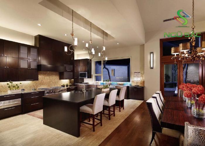 Nội thất nhà bếp kiểu Á Đông
