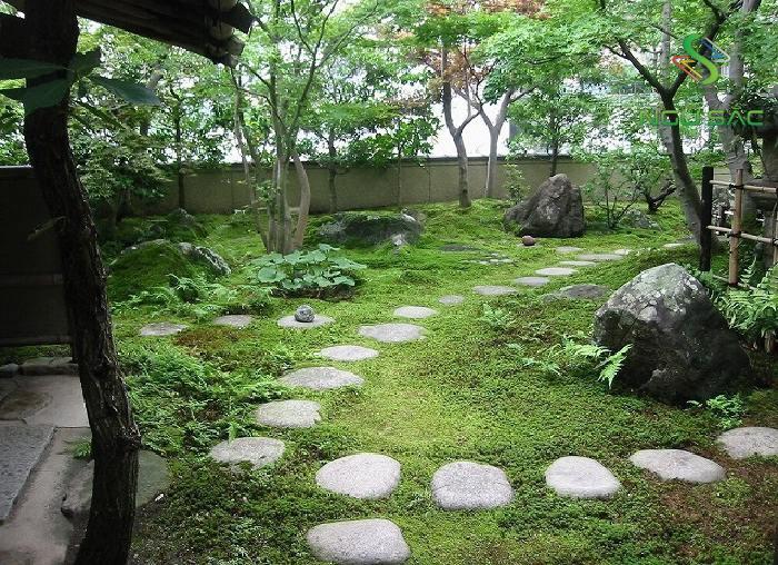 Lối vào sân vườn Chaniwa