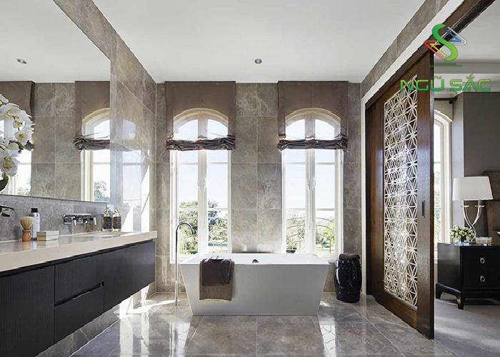 Nhà tắm phong cách châu Âu