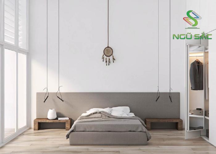 Phòng ngủ đơn giản phong cách Minimalism