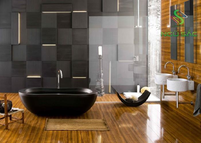 Phòng tắm tối giản, tinh tế