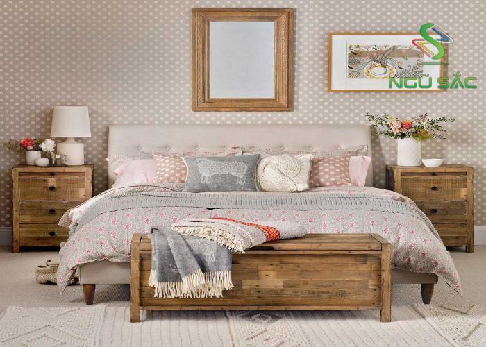 Thiết kế phòng ngủ retro lãng mạn