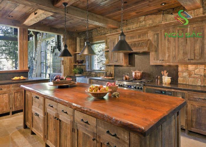 Nhà bếp kiểu Rustic