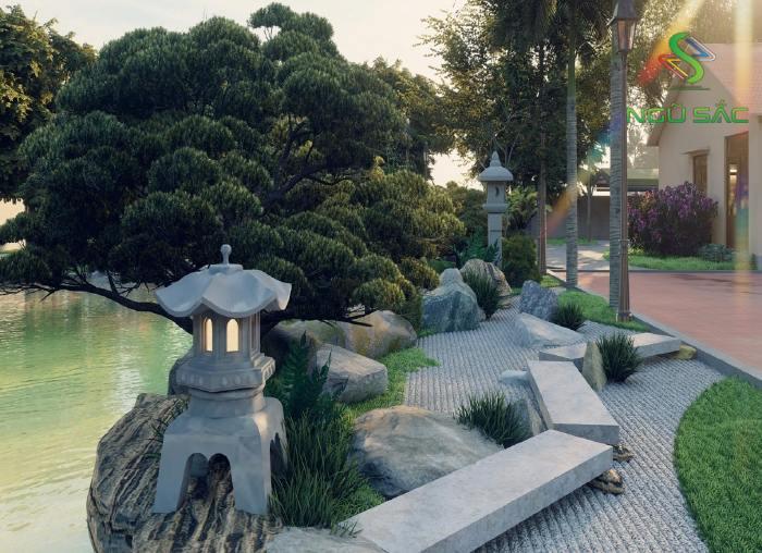 Thiết kế vườn Nhật Bản truyền thống