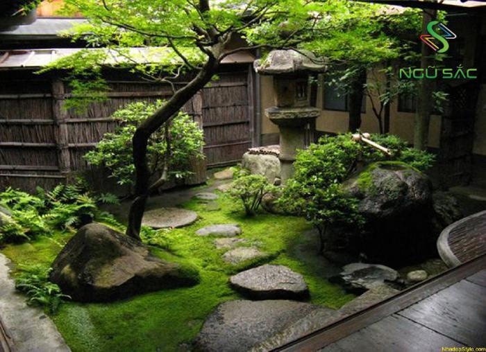 Kiến trúc sân vườn Nhật Bản đẹp