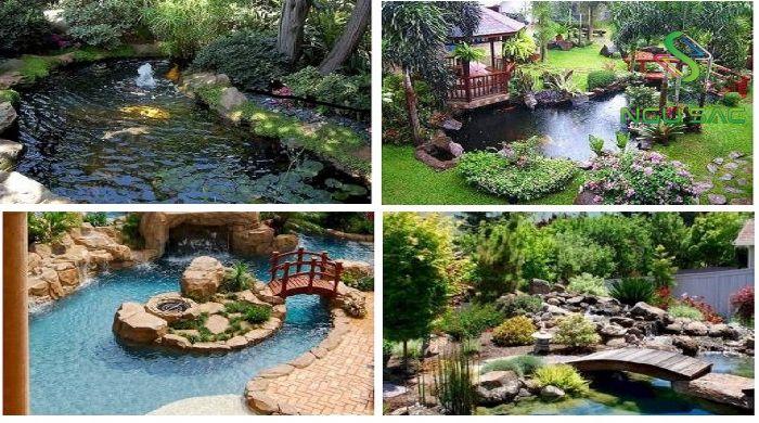 Một số tiểu cảnh nước sân vườn