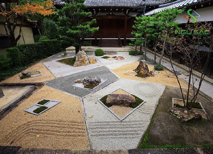 Mẫu sân vườn Nhật Bản Thiền Định