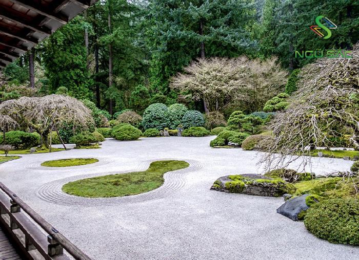 Đặc trưng của sân vườn Karesansui