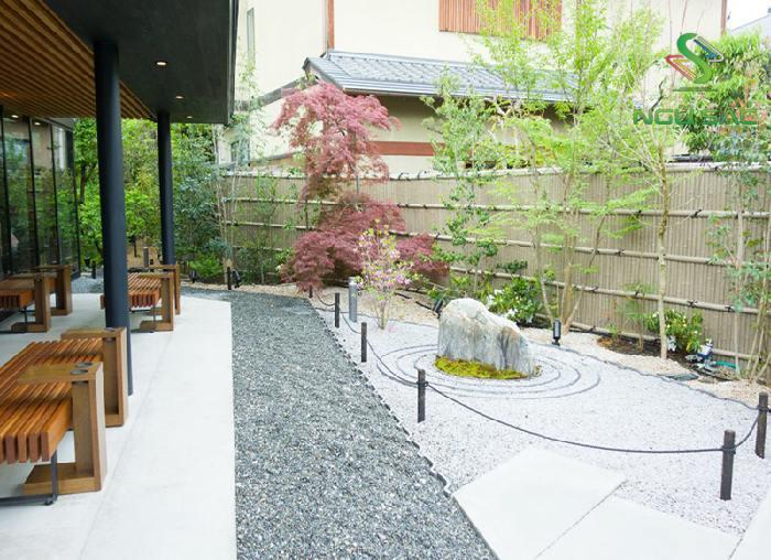 Tiểu cảnh sân vườn Nhật