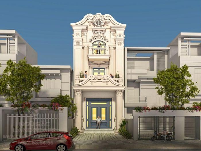 Các mẫu nhà phố cổ điển