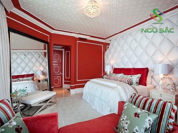 Màu sơn phòng ngủ đẹp cho vợ chồng