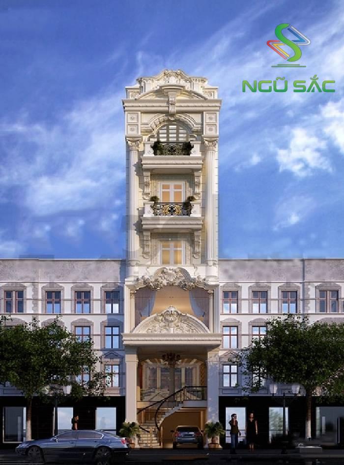 Phong cách nhà phố cổ điển 3 tầng