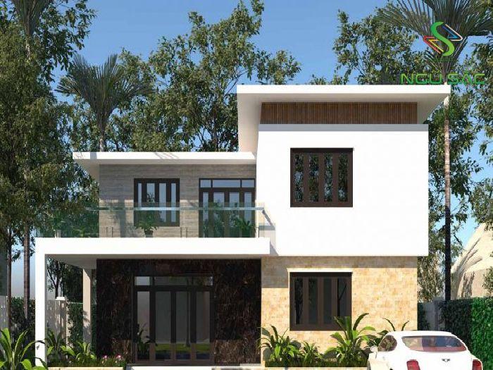 Thiết kế nhà mái bằng