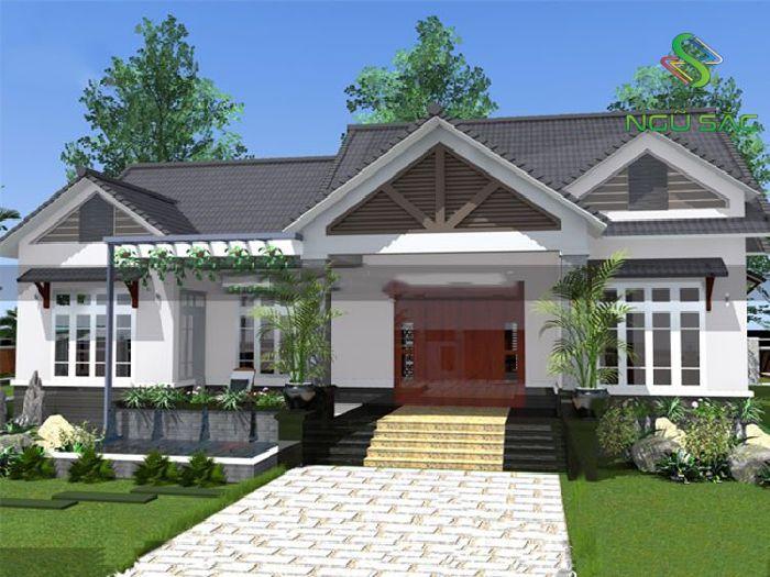 Thiết kế nhà mái thái đẹp