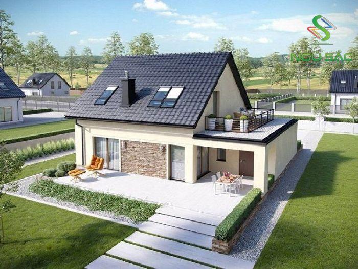Các lưu ý khi thiết kế mái nhà