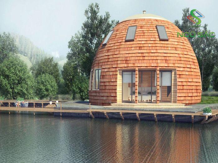 Kiểu nhà mái vòm đặc trưng ỏ phương Tây
