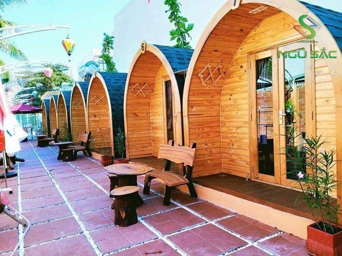 Nhà mái vòm bungalow du lịch