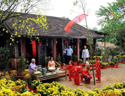 Bật Mí Cách Trang Trí Sân Vườn Đón Tết Canh Tý