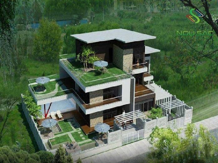 Thiết kế biệt thự vườn