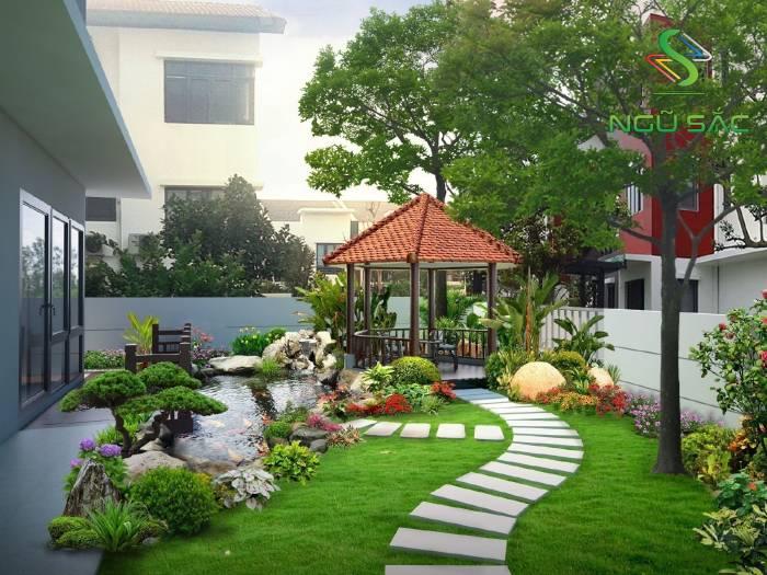 Cây trồng trang trí cho tiểu cảnh sân vườn đẹp