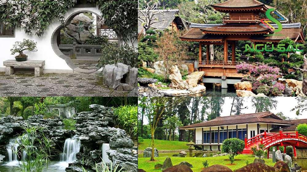 Các nét đặc trưng nổi bật của sân vườn Trung Hoa