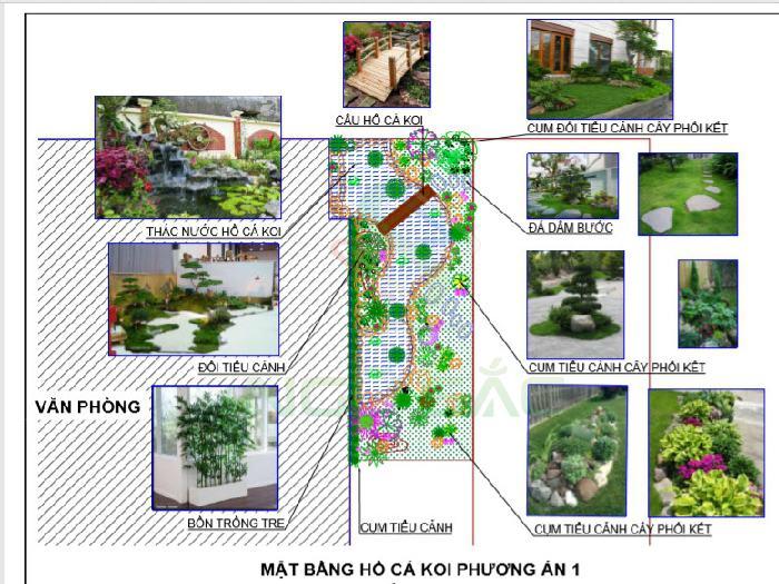 Cách bố trí tiểu cảnh trong sân vườn
