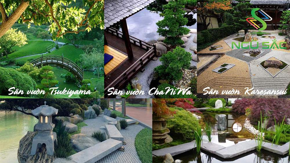 Các mẫu sân vườn Nhật Bản đặc trưng