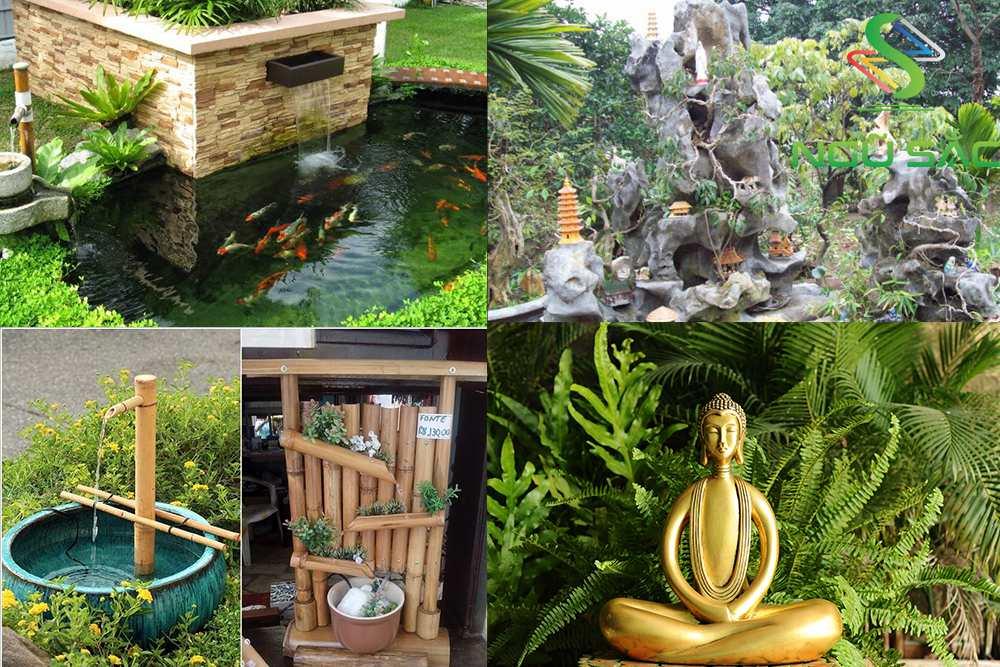 Mẫu tiểu cảnh sân vườn Việt Nam