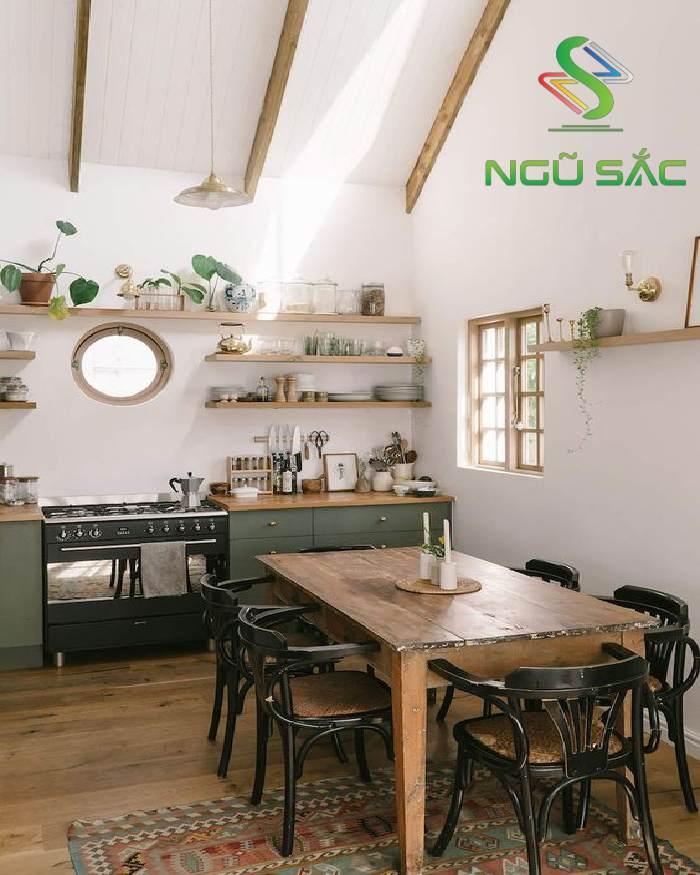 Nhà bếp hiện đại phong cách Scandinavian