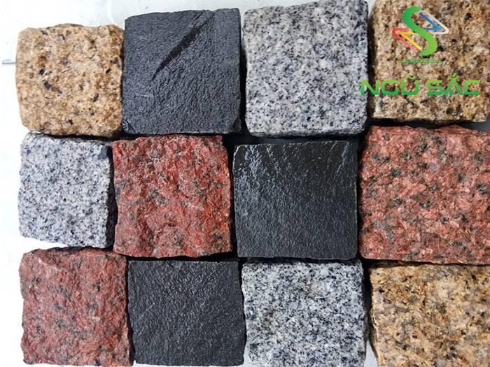 Các màu sắc của đá cubic